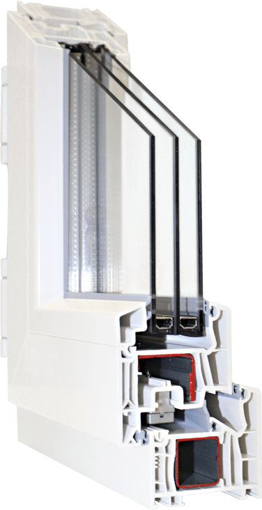 Perfilería PVC Certificada para PassivHaus en solo 76 mm